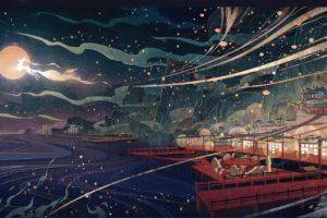 Genshin Impact - Liyue - เทศกาลโคมไฟ