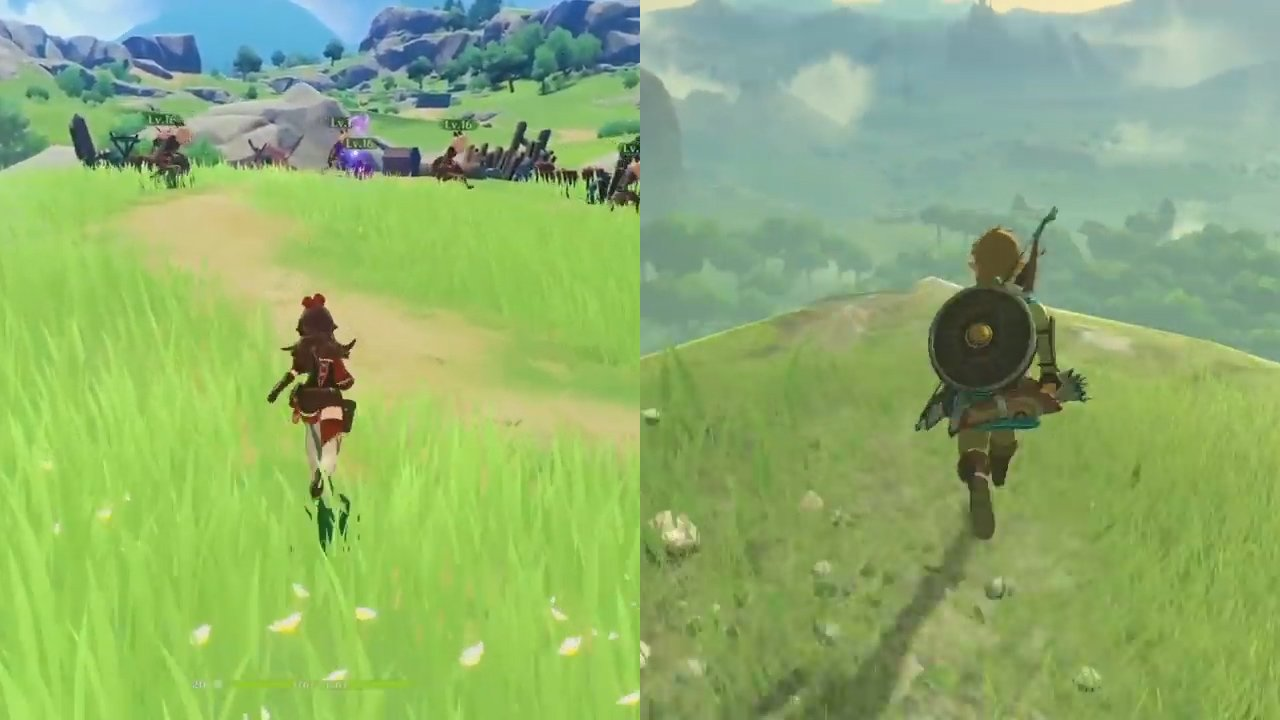 Photo of GENSHIN IMPACT | ¿PLAGIO DE BREATH OF THE WILD?