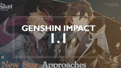 Photo of GENSHIN IMPACT | ¡¡ACTUALIZACIÓN 1.1!!