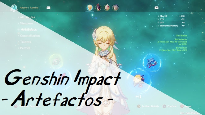 Photo of GENSHIN IMPACT | Guia de artefactos, sets y bonus