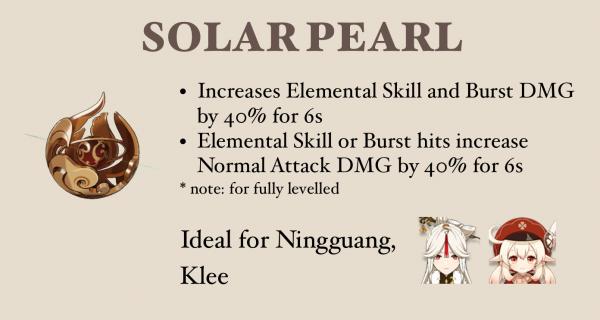 arma di perle solari